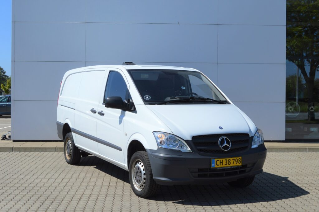Udlejning mercedes Vito