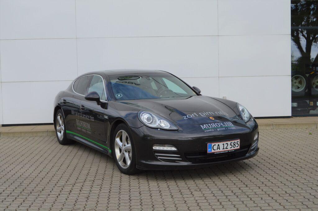 Udlejning Porsche Panamera